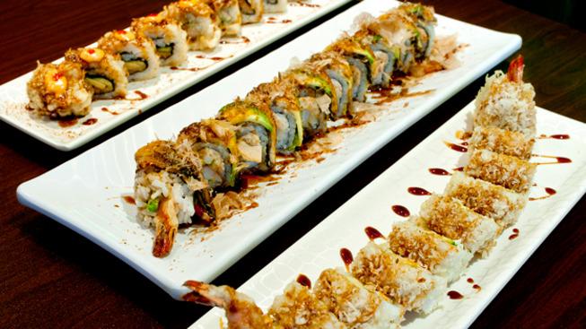 Wrap n roll sushi