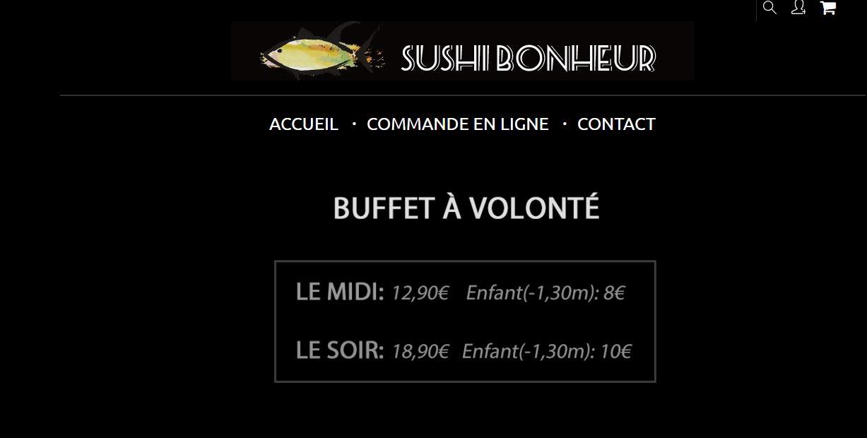 Sushi Bonheur
