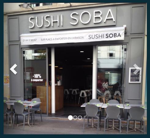 SUSHI SOBA